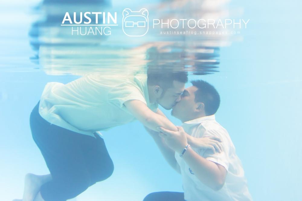 海蛙攝影,海蛙婚禮紀錄婚攝,情侶寫真,同性戀情侶照,水下婚紗,婚姻平權,同志婚紗,水下攝影