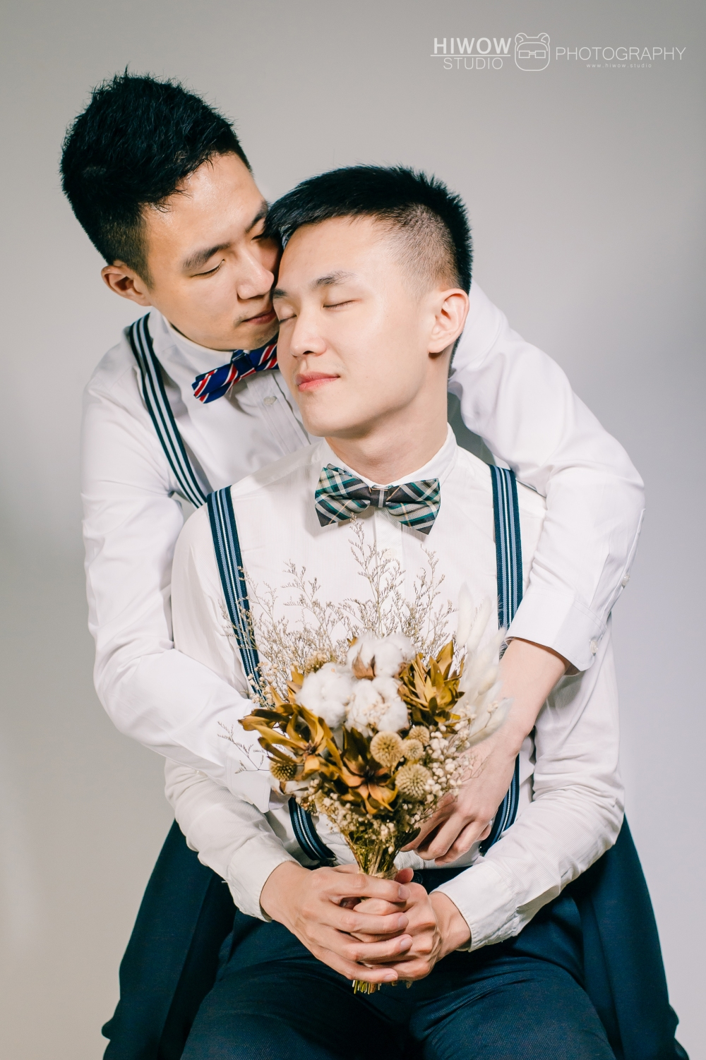 同志婚紗/海蛙攝影/austin/hiwow.studio/婚姻平權/自助婚紗/情侶寫真/居家婚紗