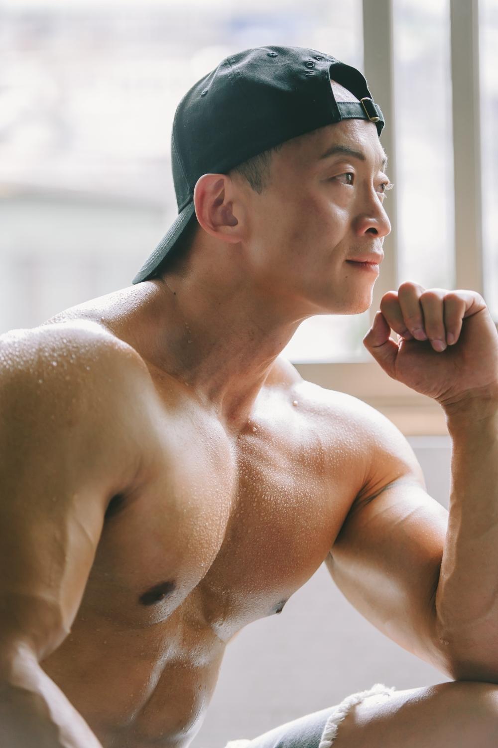 hiwow/海蛙/海蛙攝/寫真/個人寫真/健身/男人/男體寫真/淡水健身院