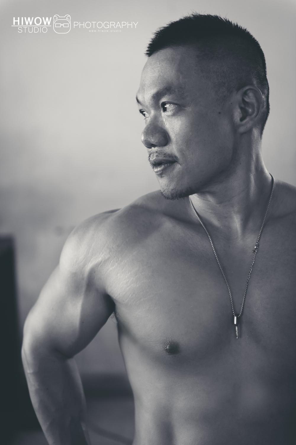 hiwow/海蛙/海蛙攝/寫真/個人寫真/健身/男人/男體寫真
