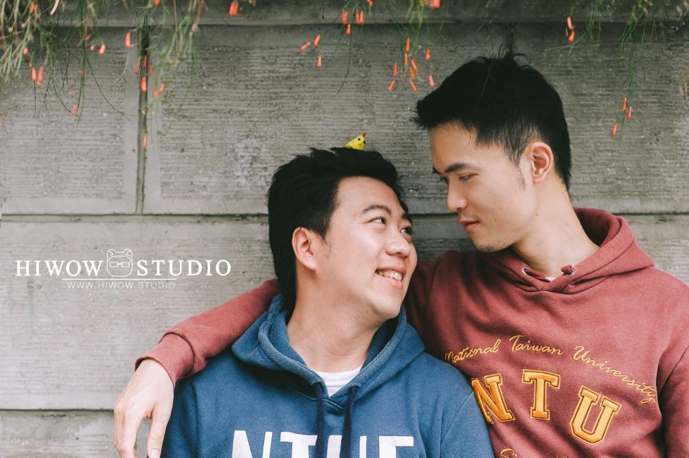HIWOW 海蛙 海蛙攝影 同志 同性戀 情侶寫真 個人寫真 台大 北教大 街頭 男男2