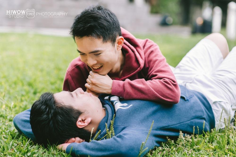 HIWOW 海蛙 海蛙攝影 同志 同性戀 情侶寫真 個人寫真 台大 北教大 街頭 男男5