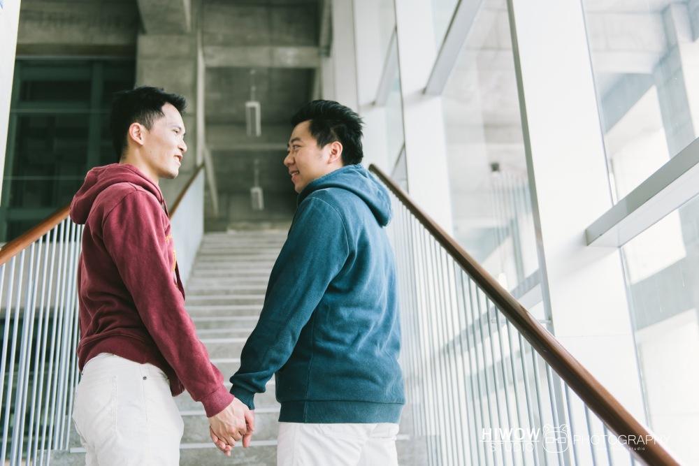 HIWOW 海蛙 海蛙攝影 同志 同性戀 情侶寫真 個人寫真 台大 北教大 街頭 男男6