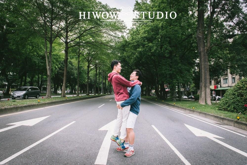 HIWOW 海蛙 海蛙攝影 同志 同性戀 情侶寫真 個人寫真 台大 北教大 街頭 男男7