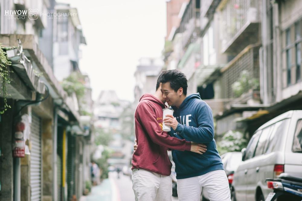 HIWOW 海蛙 海蛙攝影 同志 同性戀 情侶寫真 個人寫真 台大 北教大 街頭 男男8