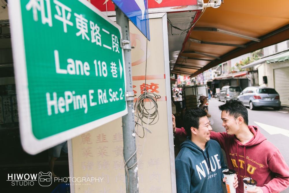 HIWOW 海蛙 海蛙攝影 同志 同性戀 情侶寫真 個人寫真 台大 北教大 街頭 男男9
