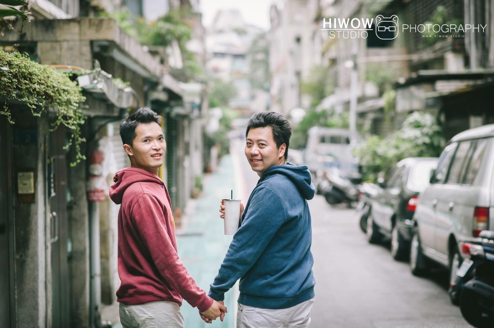 HIWOW 海蛙 海蛙攝影 同志 同性戀 情侶寫真 個人寫真 台大 北教大 街頭 男男11