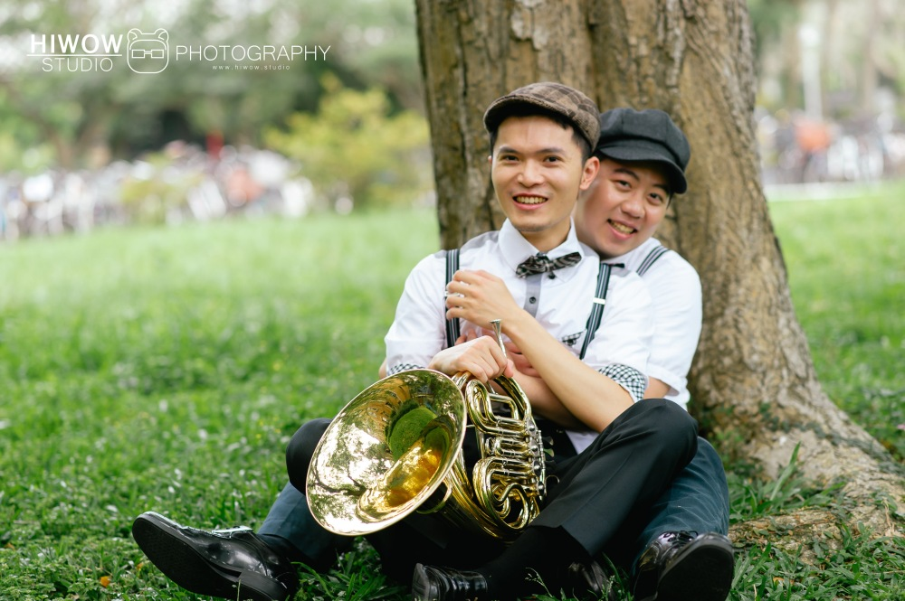 HIWOW 海蛙 海蛙攝影 同志 同性戀 情侶寫真 個人寫真 台大 北教大 街頭 男男14