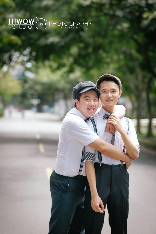 HIWOW 海蛙 海蛙攝影 同志 同性戀 情侶寫真 個人寫真 台大 北教大 街頭 男男18