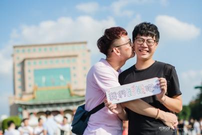 同志婚紗:海蛙攝影:austin:hiwow.studio:婚姻平權:LGBT:情侶寫真:凱達格蘭大道:2018台北同志大遊行18