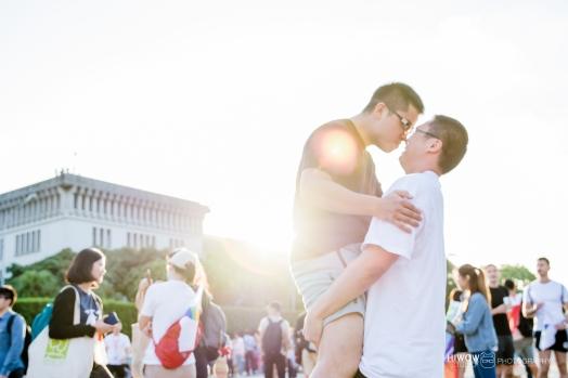 同志婚紗:海蛙攝影:austin:hiwow.studio:婚姻平權:LGBT:情侶寫真:凱達格蘭大道:2018台北同志大遊行41