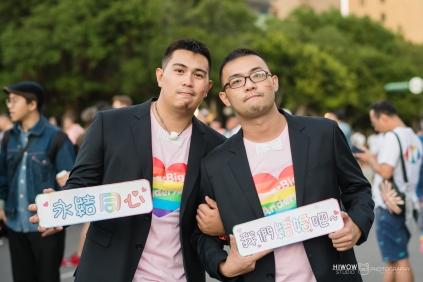 同志婚紗:海蛙攝影:austin:hiwow.studio:婚姻平權:LGBT:情侶寫真:凱達格蘭大道:2018台北同志大遊行52