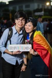 同志婚紗:海蛙攝影:austin:hiwow.studio:婚姻平權:LGBT:情侶寫真:凱達格蘭大道:2018台北同志大遊行58