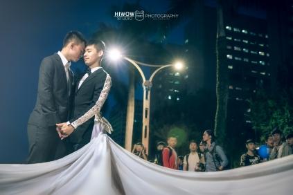 同志婚紗:海蛙攝影:austin:hiwow.studio:婚姻平權:LGBT:情侶寫真:凱達格蘭大道:2018台北同志大遊行62