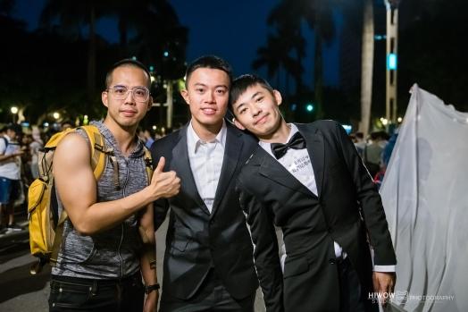 同志婚紗:海蛙攝影:austin:hiwow.studio:婚姻平權:LGBT:情侶寫真:凱達格蘭大道:2018台北同志大遊行63
