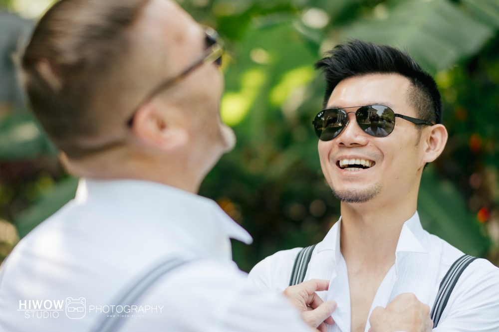 HIWOW 海蛙 海蛙攝影 同志 同性戀 情侶寫真 個人寫真 大同大學 澳洲 男男