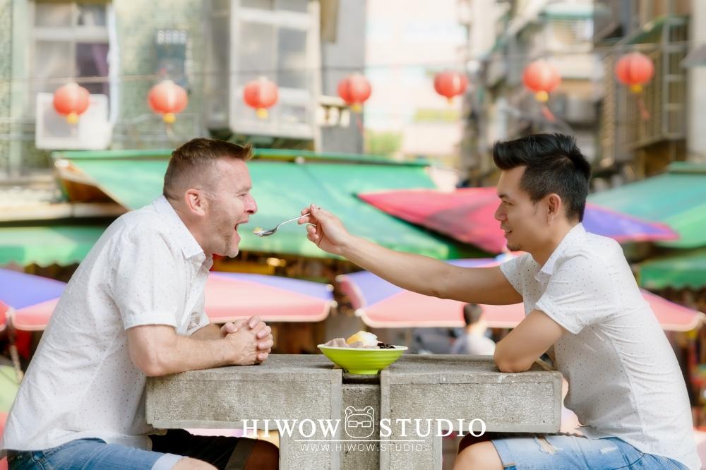 同志婚紗/海蛙攝影/austin/hiwow.studio/婚姻平權/自助婚紗/情侶寫真/澳洲/凡登西服/台北花博公園