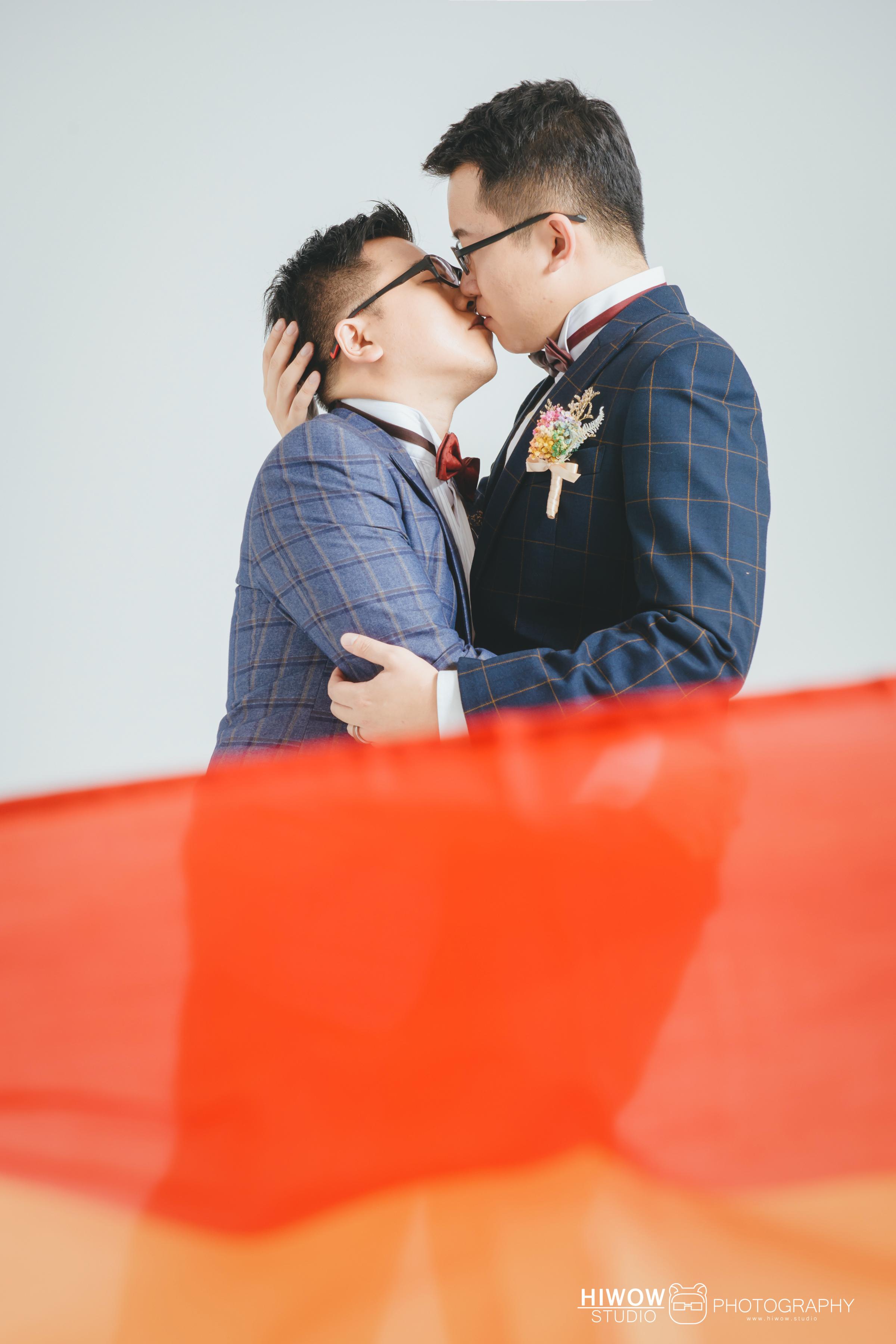 海蛙攝影/男男婚紗/情侶寫真/同志婚紗/同性婚姻/婚姻平權/好拍市集/hiwow.studio/